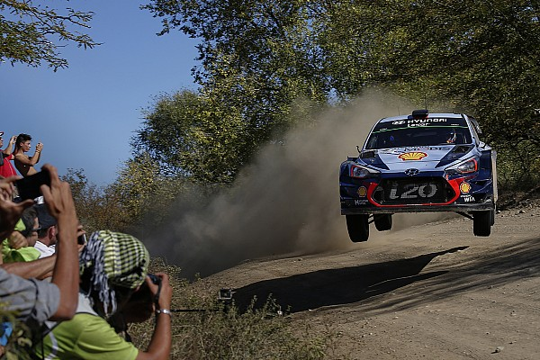 Rallye Argentinien: Neuville entreißt Evans den 1. WRC-Sieg