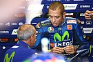 Rossi a pris la piste, pour un premier test après sa blessure