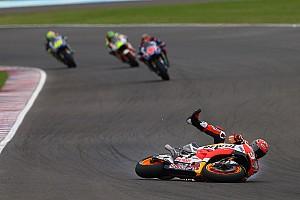 MotoGP Breaking news Marquez: Argentina crash shows Honda still