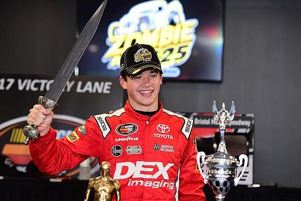 NASCAR Burton scores first NASCAR K&N Pro Series East win