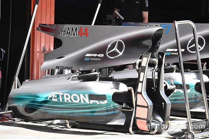 Гран При Испании: шпионские фото технических новинок