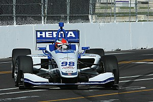 Indy Lights Qualifying report St Pete Indy Lights: Herta claims brilliant pole for Race 2