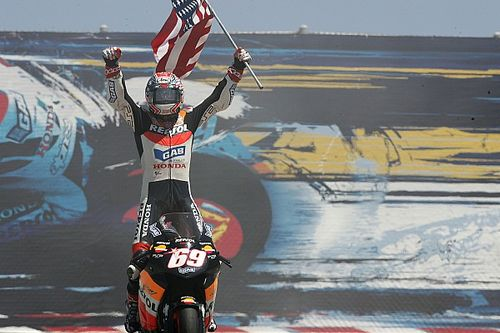 La primera victoria de Nicky Hayden en MotoGP