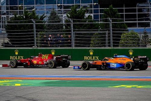 В McLaren признали преимущество Ferrari по скорости