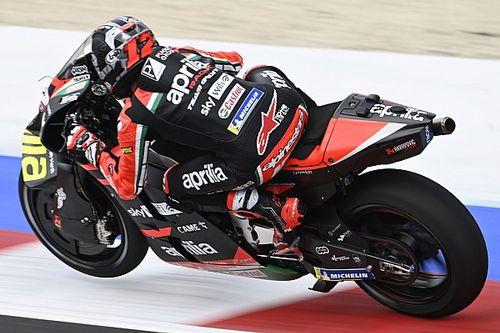 Misano MotoGP: Vinales tops rain-hit FP1 as Dovizioso and Morbidelli return