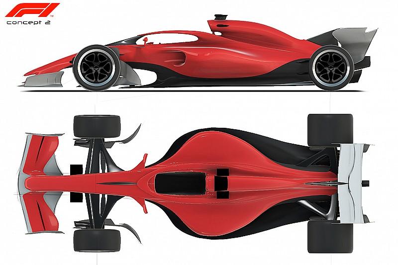 In beeld: Het concept van F1-wagens voor seizoen 2021