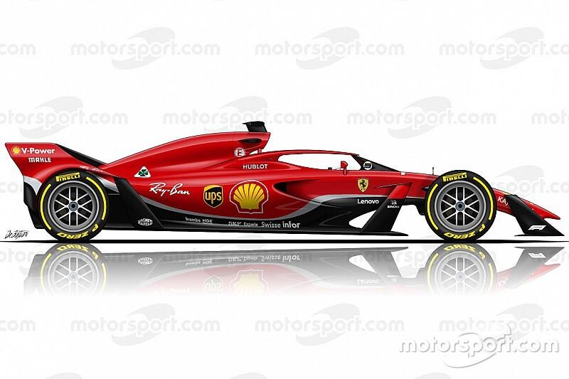 Conceito do carro de 2021 da Fórmula 1 decepciona Ferrari