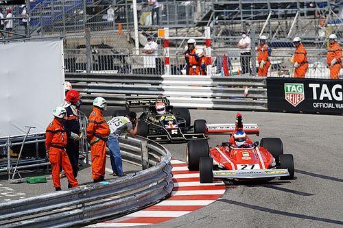 Las dos versiones del controvertido final del GP Histórico de Mónaco