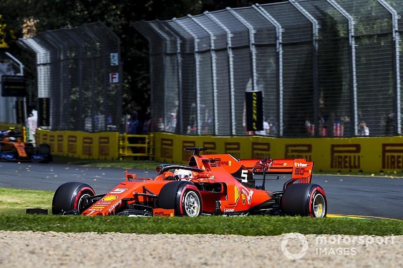 Vettel, entre la falta de confianza y la sorpresa por Mercedes