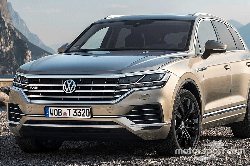 Volkswagen представив найпотужніший Touareg V8 TDI