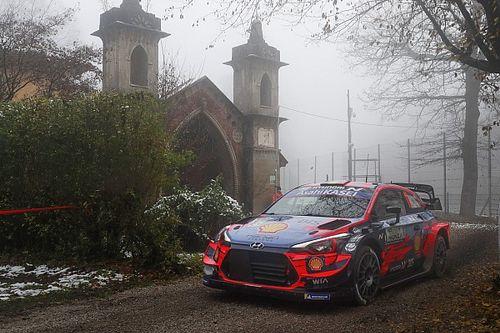 WRC, Monza, Shakedown: subito doppietta Hyundai con Neuville-Tanak