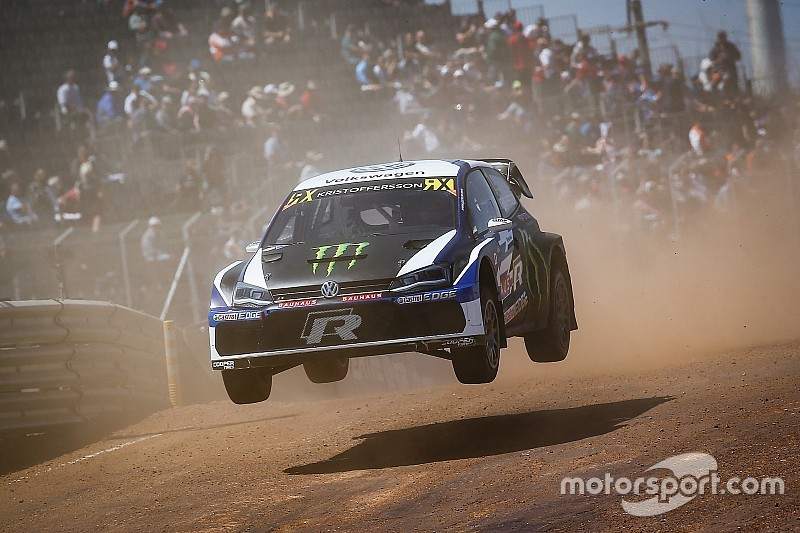 South Africa World RX: Kristoffersson topples Loeb in qualifying