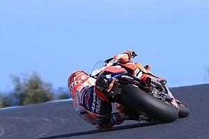 MotoGP, Phillip Island, Libere 3: Marquez al top in una sessione molto lenta