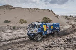 Dakar, Camion, Tappa 12: Nikolaev di nuovo in testa per un secondo!
