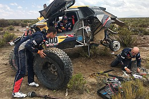 Dakar Breaking news Frustrated Peterhansel explains costly Dakar accident