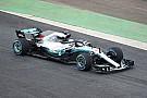 Hamilton is pályára vitte az új Mercedest: képek