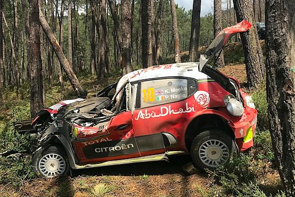 Citroen cree que el diseño del auto salvó a Meeke en su accidente