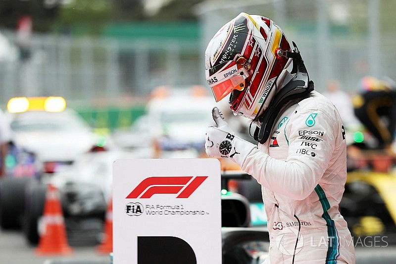 Azerbaijan GP: Hamilton wins crazy race as Red Bull implodes
