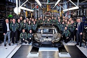 Nuovo record per Lamborghini Squadra Corse: prodotta la 300esima Huracán
