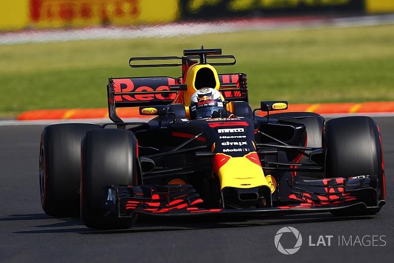 墨西哥大奖赛FP2:里卡多力压汉密尔顿全场第一