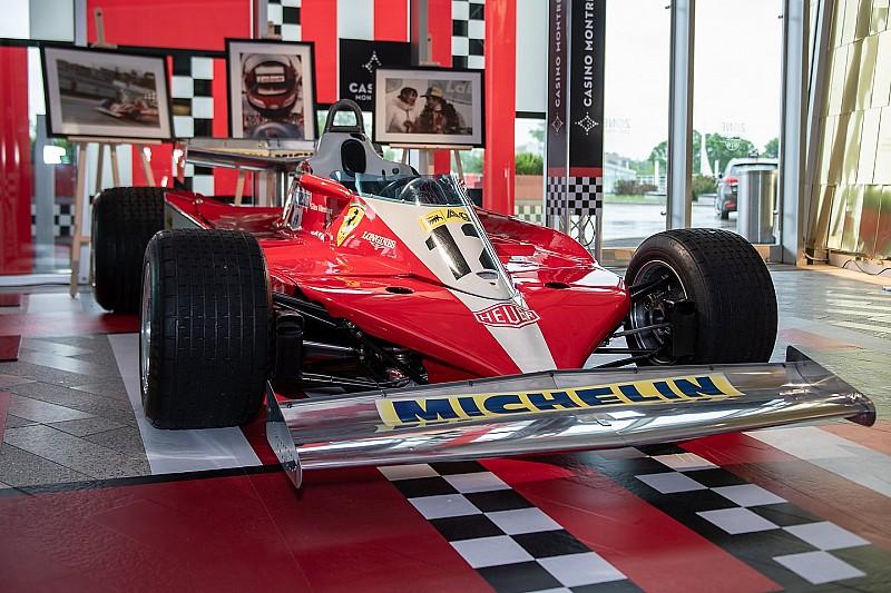 Jacques Villeneuve Gilles 1978-as Ferrariját fogja vezetni a versenyzői parádén