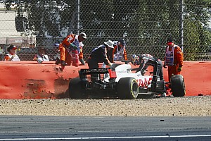 Silverstone DRS crashes were