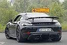 El Porsche 718 Cayman GT4 2018 sigue con su fase de desarrollo