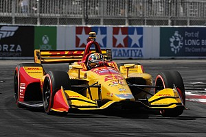 """IndyCar Breaking news Hunter-Reay admits his Long Beach race was """"a complete nightmare"""""""
