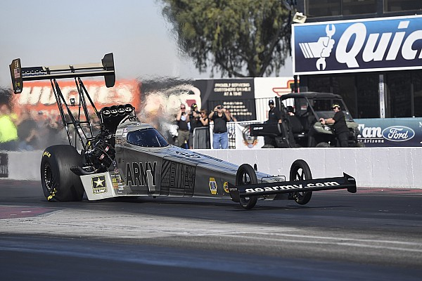 Schumacher unconcerned by new crew chief's lack of Top Fuel experience