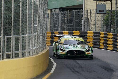 Macau GT: Marciello voor Bamber en Vanthoor in kwalificatierace