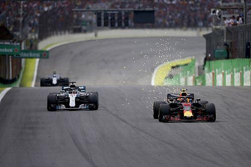 Formel 1 2018 Brasilien: Hamilton siegt nach kurioser Verstappen-Kollision