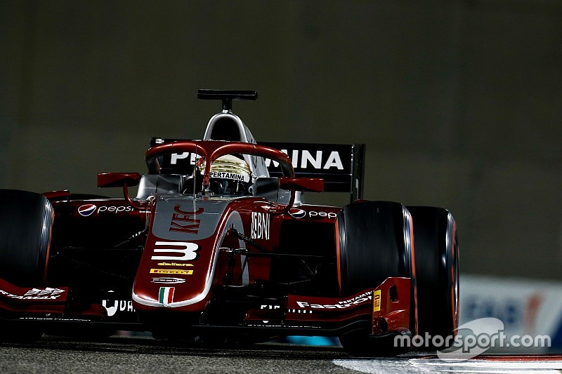 Gelael será el compañero de Schumacher en F2