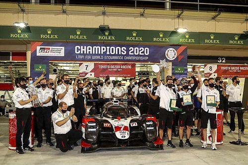 巴林8小时:丰田7号车组奏凯并加冕世界冠军,成龙DC车队LMP2组获胜