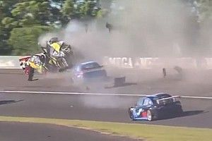 VIDEO: El fuerte accidente en una categoría argentina en Paraná