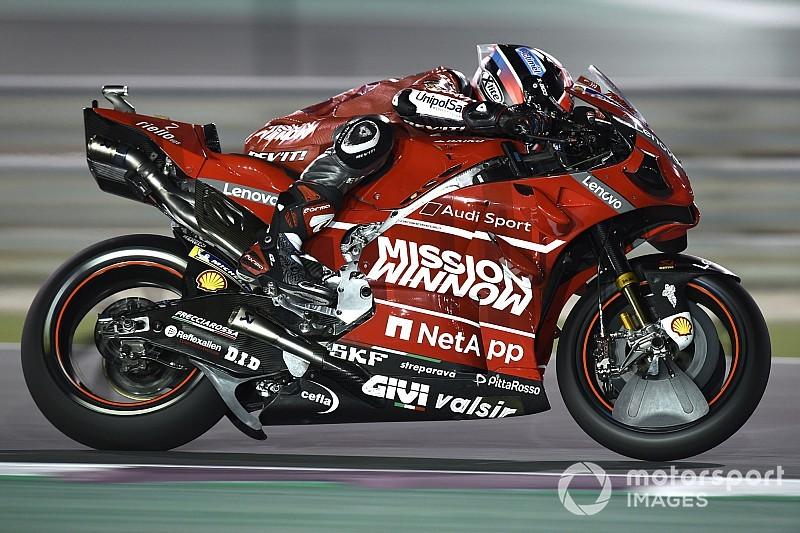FP4 MotoGP Qatar: Petrucci tercepat, Marquez tersungkur