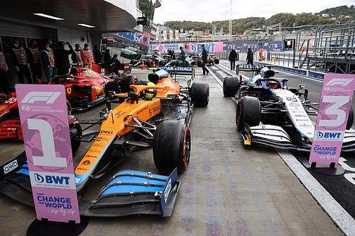Stats Russie 2021 - McLaren-Ferrari-Williams, comme au bon vieux temps