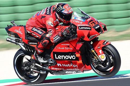 MotoGPサンマリノ予選:絶好調バニャイヤ、2連続ポール獲得! 転倒者多く、中上もクラッシュしQ1敗退