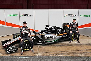 Formula 1 Breaking news Force India unveils new F1 car