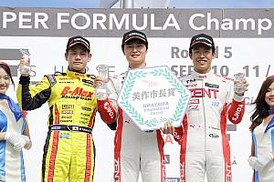 全日本F3 プレスリリース 全日本F3第7大会ラウンド13/14岡山戦:13戦で山下が今季4回目の優勝。タイトルまで8ポイント差に。