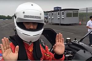 Roborace Curiosità Video, Lucas Di Grassi passeggero dell'auto senza... pilota!