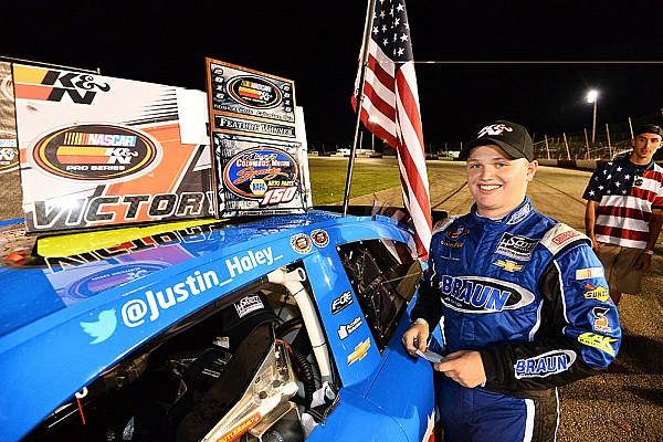 NASCAR Justin Haley claims 2016 NASCAR K&N East title