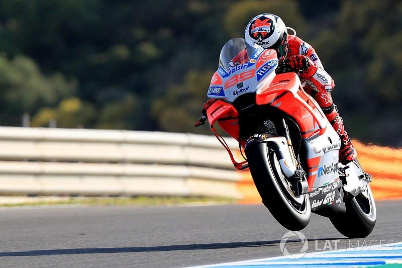 Ducati deixou a moto mais confortável, diz Lorenzo