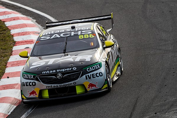 Supercars Tasmania Supercars: Lowndes ends pole drought