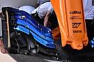 Egyelőre csak Alonso kapta meg a McLaren új első szárnyát