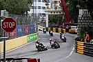 Motorrad in Macao: Rennabbruch nach schwerem Unfall