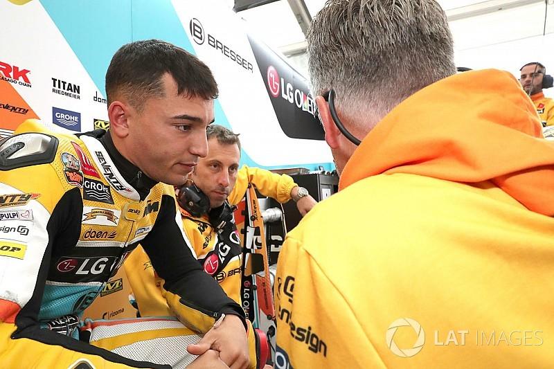 Moto3 sürücüsü Guevara yarış kariyerini sonlandırdı