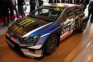 WK Rallycross Nieuws Solberg onthult nieuwe wagen WorldRX