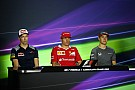 Azerbaijan GP: Thursday's press conference