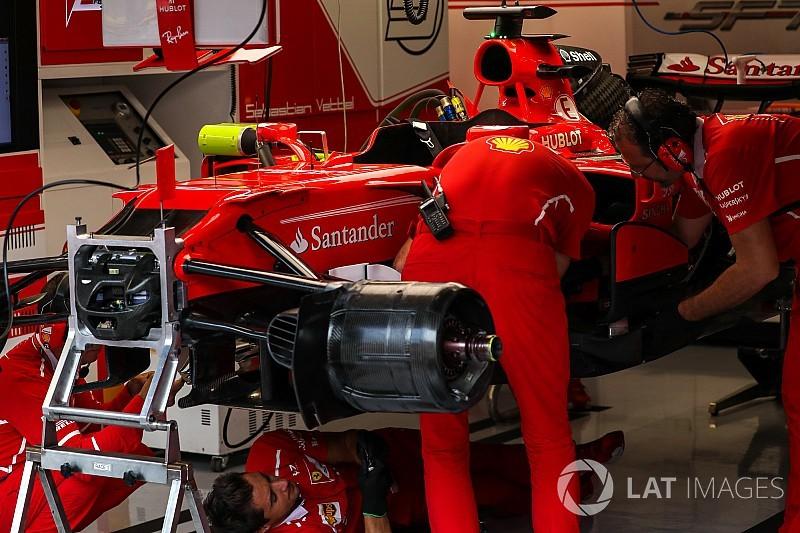 GALERÍA: las innovaciones técnicas de los equipos de F1 en Spa