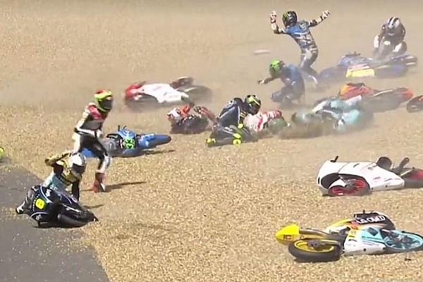 Moto3: Tercera victoria del año para Mir; Canet, segundo
